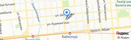 Kcell Express на карте Алматы