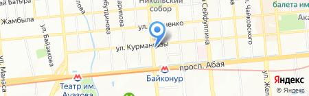 Клиника байланыс ТОО на карте Алматы