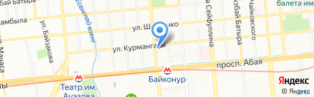 Print Plus на карте Алматы