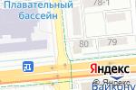 Схема проезда до компании Coffee inn в Алматы