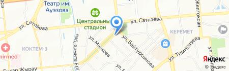 Aladdin Media Group на карте Алматы