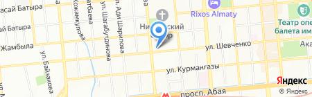 Арман-АНК на карте Алматы