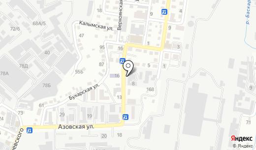 RADA. Схема проезда в Алматы