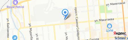 Makosh professional на карте Алматы