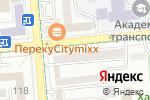 Схема проезда до компании Dress By Mia в Алматы