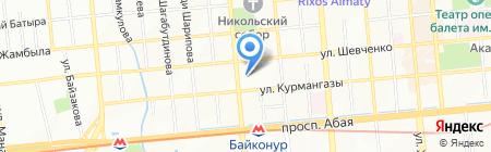 Клиника Оксаны Малицкой на карте Алматы