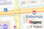 Схема проезда до компании Marrone Rosso в Алматы