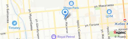 GLORY & K на карте Алматы