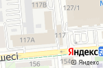 Схема проезда до компании Рубин+ в Алматы
