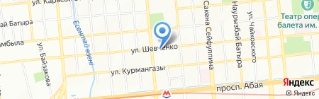 World Travel Service на карте Алматы