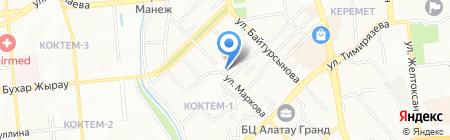 Наш на карте Алматы