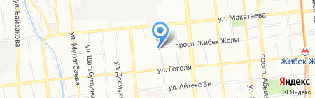 ITC на карте Алматы