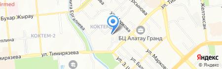 Ясли-сад №151 на карте Алматы