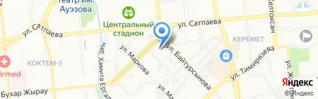 Бауыр на карте Алматы