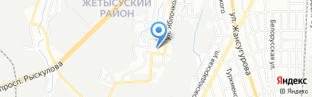 Заман Фарм Алматы Дистрибьюция на карте Алматы