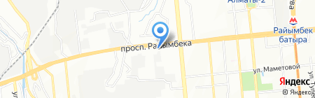 Платежный терминал Сбербанк на карте Алматы