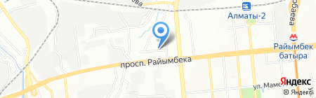 У Апашки на карте Алматы