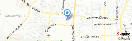 Али-Мухаммед на карте Алматы