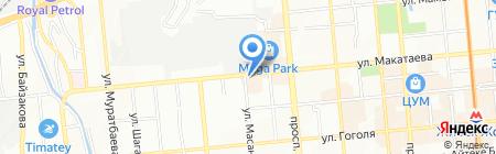 Alcomarket на карте Алматы