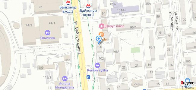 улица Байтурсынова, 100