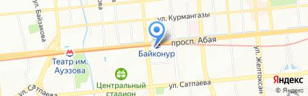 Алматы ГазИнжиниринг на карте Алматы