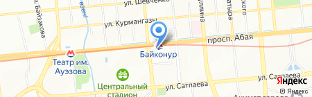 Logos Travel на карте Алматы
