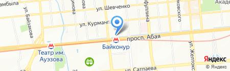 UNITED на карте Алматы