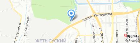Ковка Алматы на карте Алматы