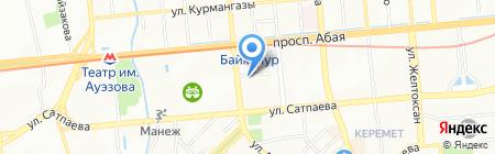 Дарус-Плюс на карте Алматы