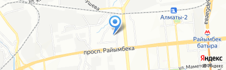 Общеобразовательная школа №3 на карте Алматы