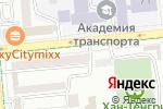 Схема проезда до компании ЭкоДом в Алматы