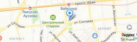 Алина-Агро LTD на карте Алматы