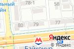 Схема проезда до компании Арлан финанс, ТОО в Алматы