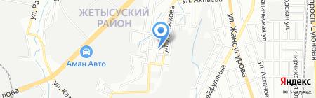 Каусар К на карте Алматы