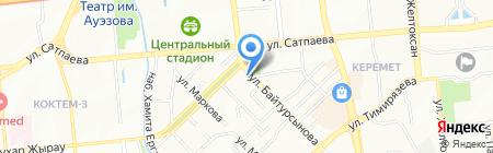Il`kosta на карте Алматы