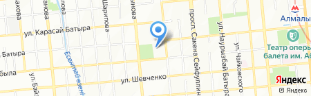 DOMSAD на карте Алматы