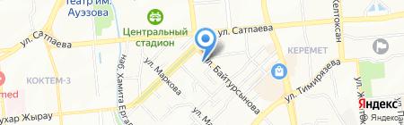 Нотариус Попова В.Г. на карте Алматы