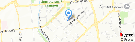 Лорен на карте Алматы