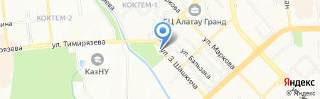 Sandra Flowers на карте Алматы