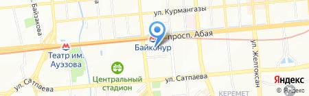 Климат Плюс на карте Алматы