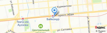 Экстремал на карте Алматы