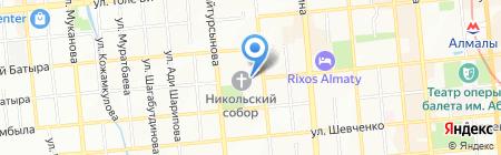Kodak фотосалон на карте Алматы