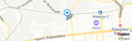 Happy Land на карте Алматы