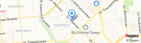Рамс Казахстан ТОО на карте Алматы