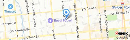 Халык-Life на карте Алматы