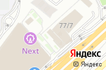 Схема проезда до компании EY в Алматы
