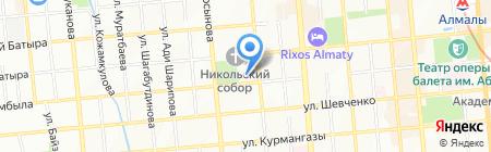 Академия современного танца всех стилей и направлений на карте Алматы