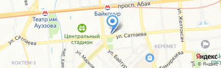Grace на карте Алматы