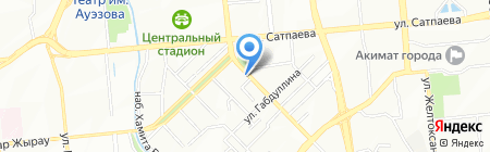 Магазин сумок на карте Алматы