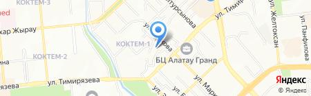 Fortuna plus на карте Алматы